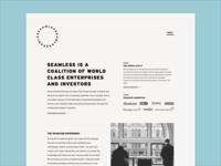 Seamless Accelerator Homepage