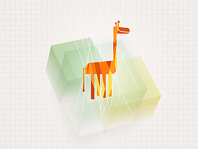 Happy Giraffe giraffe poster
