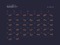 Analytics Calendar