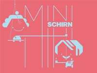 MINISCHIRN logo and more characters