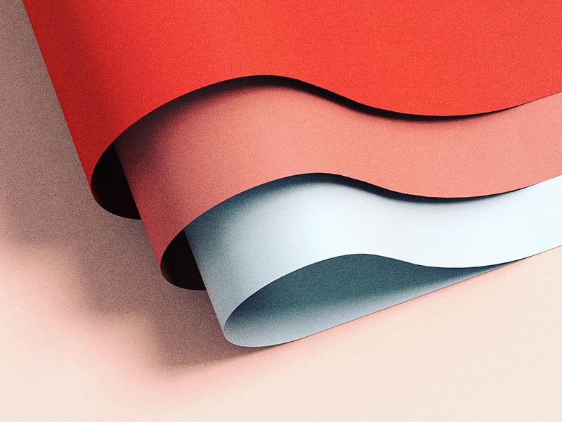 3 folds by John Starr on Dribbble