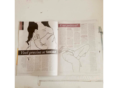 your pleasure simpledrawing outline newspaper linedrawing lidiabrancher jornal illustration graphic erotic editorialillustration editorial art