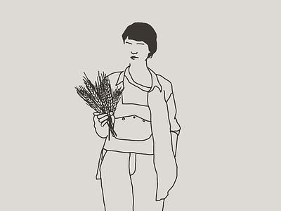 Filipa foodilustration bread graphicdesign illustration
