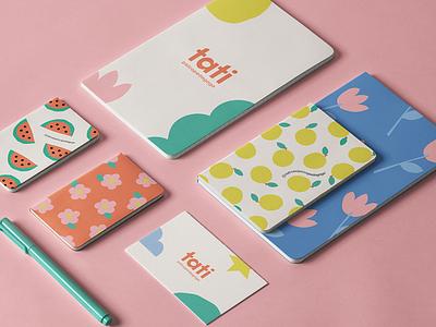 Tati Nesi Psicopedagoga learning learn pedagogy design illustration branding logo kids cutout colorful children