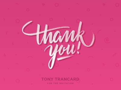 Thank you handmade typography typo handlettering lettering thank you hello