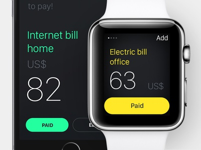Small App for iPhone & Apple Watch responsive bills san francisco black app iphone ios apple watch