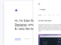 Personal Web Redesign