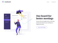 Meetboard Landing