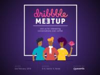 Noida Dribbble Meetup- Quovantis