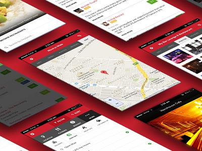 Zomato Mobile Site mobile site responsive zomato ui red