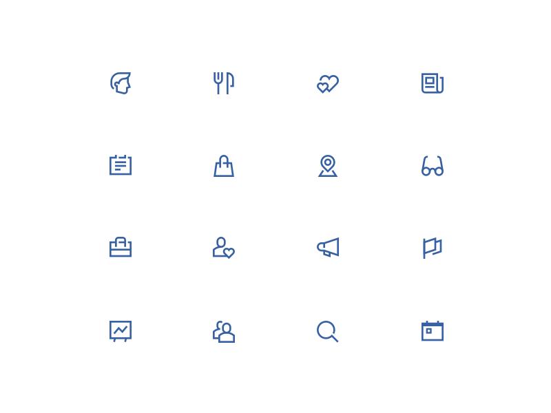 Zima icons