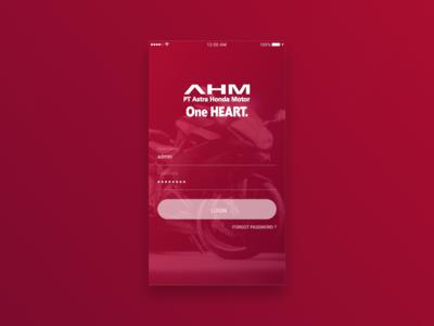 AHM B2E Mobile login