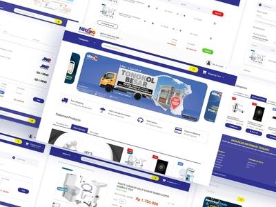 Mitra10 Website Ecommerce Redesign