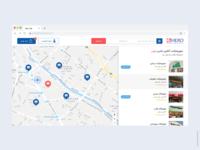 Online supermarket website