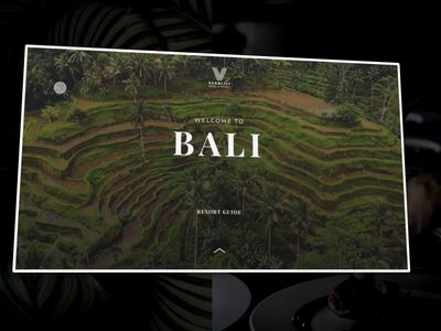 Welcome to Bali travel app web  design prototype animation prototyping interaction animation interaction design ui ux illustration design app animation