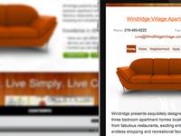 Windridge Village Apartments - Responsive Web Design
