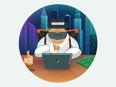 Mafia Logo krypto mafia photoshop illustrator adobe illustration vector logo web design brands design art