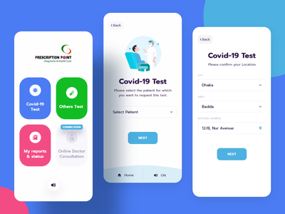 Online Medical During Covid-19 Situation booking appointment doctor appointment doctor browser ui  ux technology vivr ivr covid19 app medical ux ui