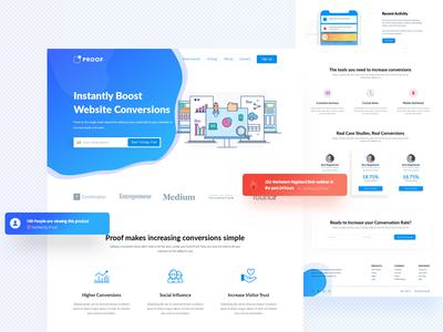 Client work redesign client work minimal best homepage ux ui website landing page