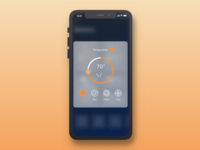 Smart Home App- Temperature