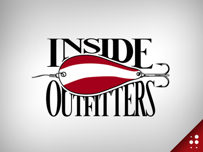Inside Outfitters Logo custom type throwback logo