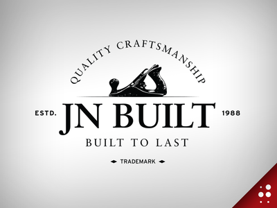 JN Built Logo Idea illustration logo