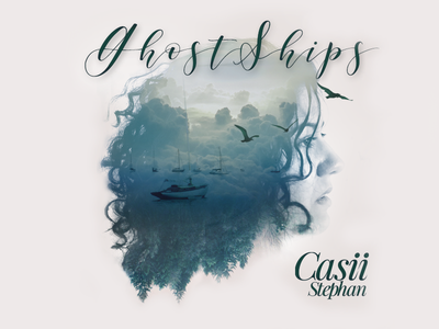 Ghostships CD Cover double exposure cd cover