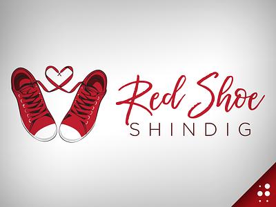 Red Shoe Shindig Logo shoes illustration logo