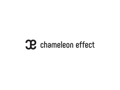 chameleon effect  psychology research group logo corporate brand identity