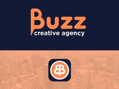 Buzz Creative Agency agency creative icon appicon app brand corporate ci logo