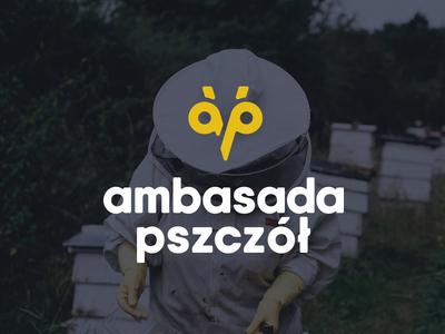 bees embassy/ambasada pszczół natural protect foundation bee corporate branding logo