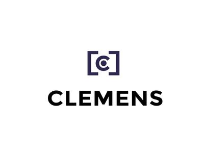 Chris Clemens Photography  camera photography brand corporate ci logo