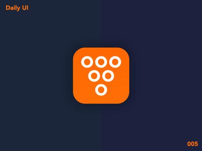 Daily UI 005 glass grape wine icon app