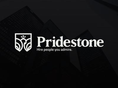 Pridestone Branding peacock recruitment executive unique special top pride logo branding