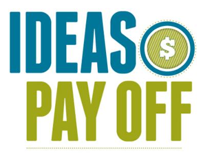 Ideas Pay Off Logo