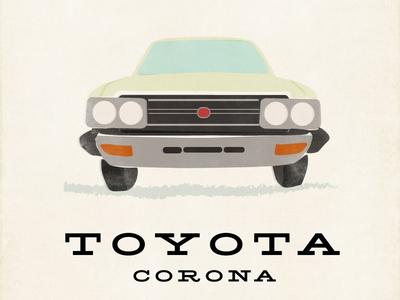 Toyota Corona Illustration