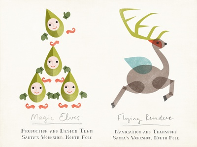 Magic Elves and Reindeer