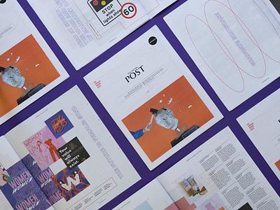 Shillo post editorial art direction branding editorial design