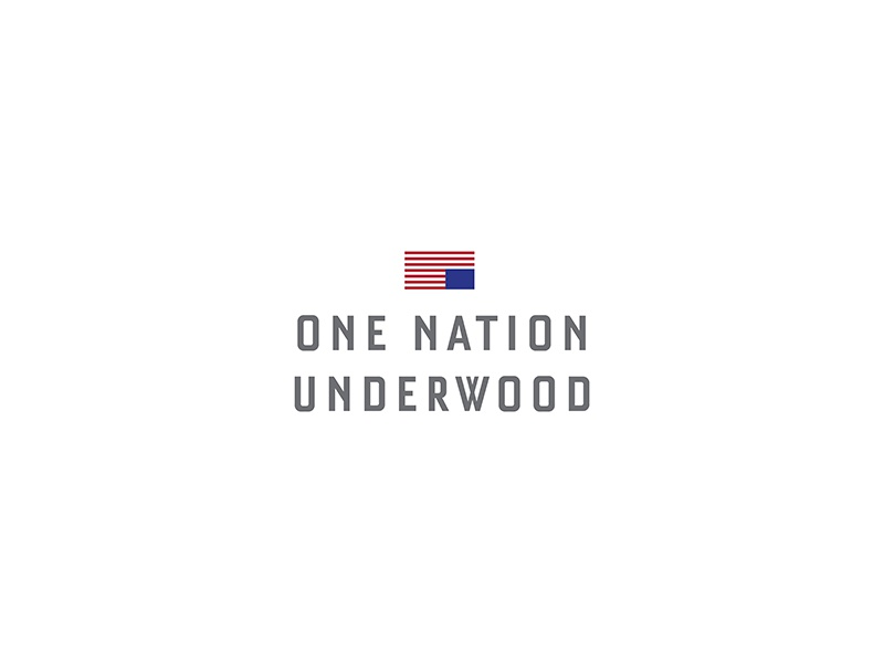One Nation Underwood frank underwood flag netflix hose of cards
