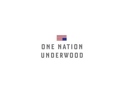 One Nation Underwood frank underwood flag netflix hose of cards