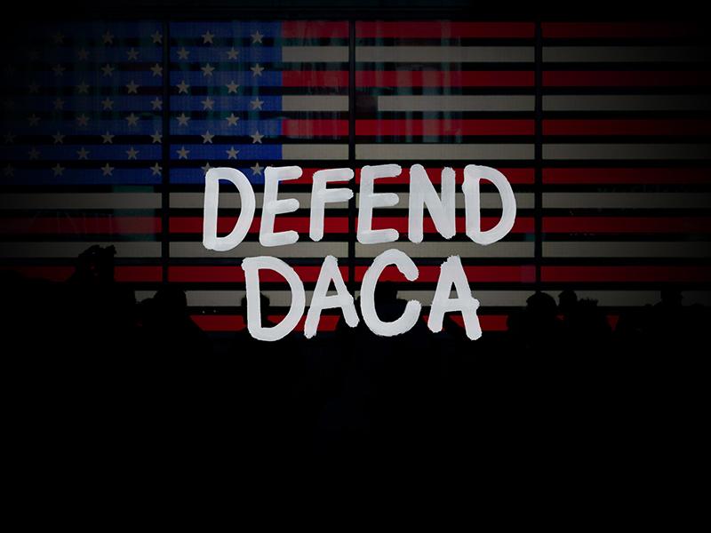 Defend DACA dreamers daca defend daca krink lettering
