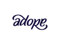 Adore ambigram