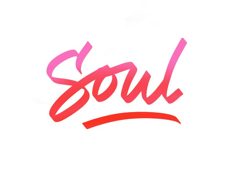 Soul brush lettering procreate app lettering