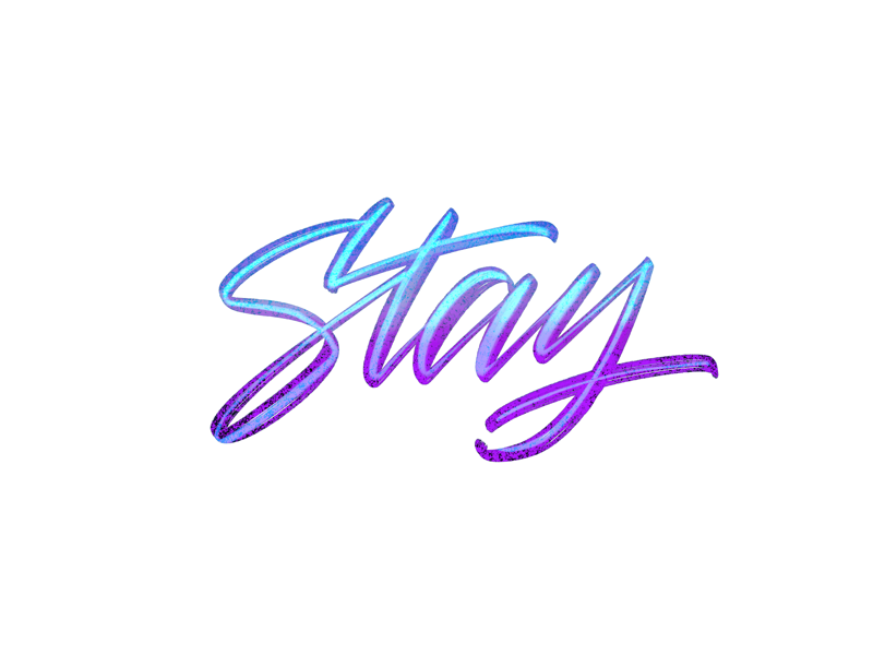 Stay brushes gradient procreate app digital lettering brush pen lettering stay