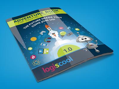 Logiscool Adventure Book render learning cinema 4d 3d design book booklet booklet design