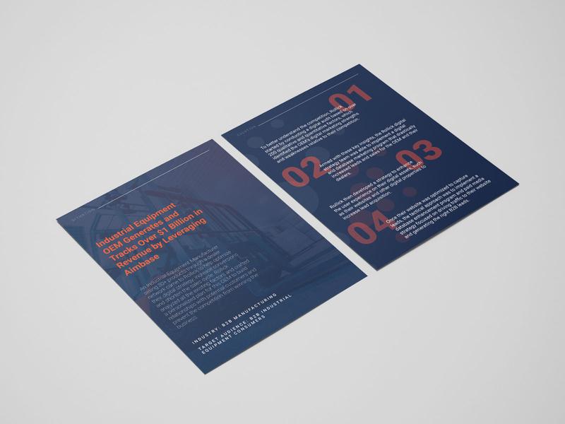 Industrial Case Study layout flyer print designer print print design case studies case study casestudy graphic layout design graphic design design photoshop