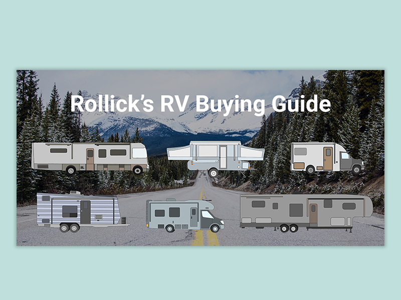 Rv Buying Guide camping trailer trail outdoors mountains graphic icon branding illustrator photoshop drawing recreation rv wacom bamboo adobe draw vector layout design graphic design illustration design