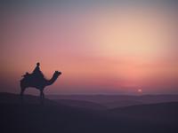 Desert Sunset, Landscape 3