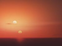 Binary Sunset - Luke's View
