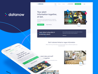 Datanow brand and website refresh